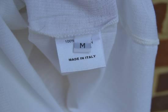 Balmain White Ribbed T-shirt Size US M / EU 48-50 / 2 - 8