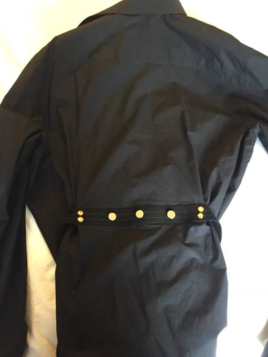 Givenchy Shirt - Blouse With Studded Belt Size US L / EU 52-54 / 3 - 2