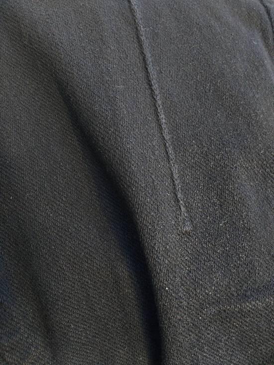 Julius Black Knit Denim Waxed Drop Crotch Jeans Size US 29 - 4