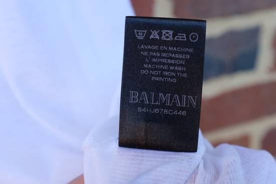Balmain White Ribbed Knit Tank Top Size US L / EU 52-54 / 3 - 7