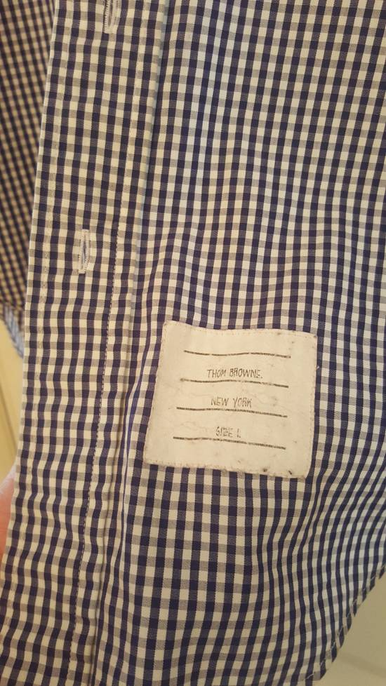 Thom Browne Classic Blue Checked Oxford shirt Size 1 Size US S / EU 44-46 / 1 - 2