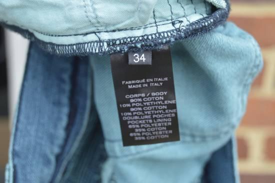 Balmain Turquoise Double Zip Biker Jeans Size US 34 / EU 50 - 10