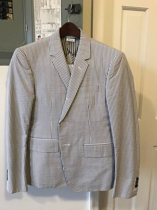 Thom Browne Classic Seersucker Suit Size 36S
