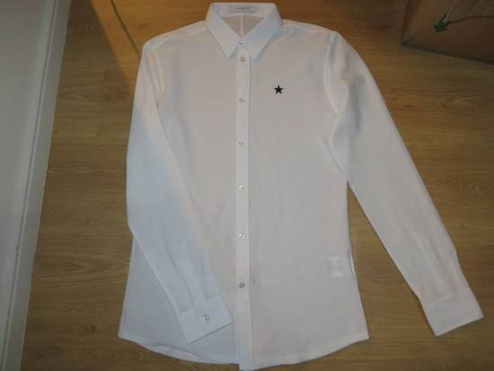 Givenchy Star-embroidery shirt Size US XL / EU 56 / 4 - 9