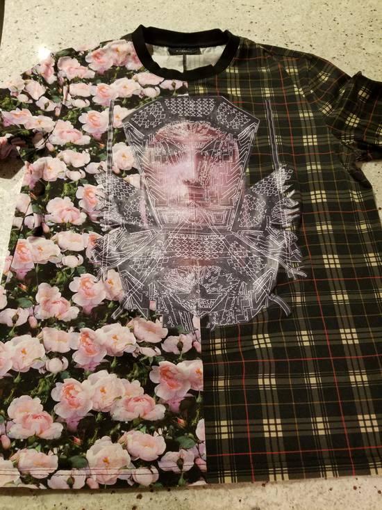 Givenchy Givenchy Floral & Plaid Cuban Fit T-Shirt Size US L / EU 52-54 / 3