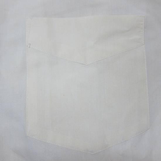 Balmain Balmain Paris 16 1/2/42 80% Cotton 20% Polyester Made in Hong Kong Light Yellow Long Sleeve Front Pocket Button Up Shirt Size US L / EU 52-54 / 3 - 4
