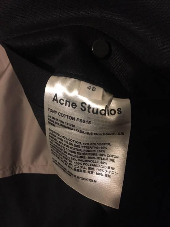43419535798d Acne Studios Tony Face Cotton Coach Jacket Size m - Light Jackets ...