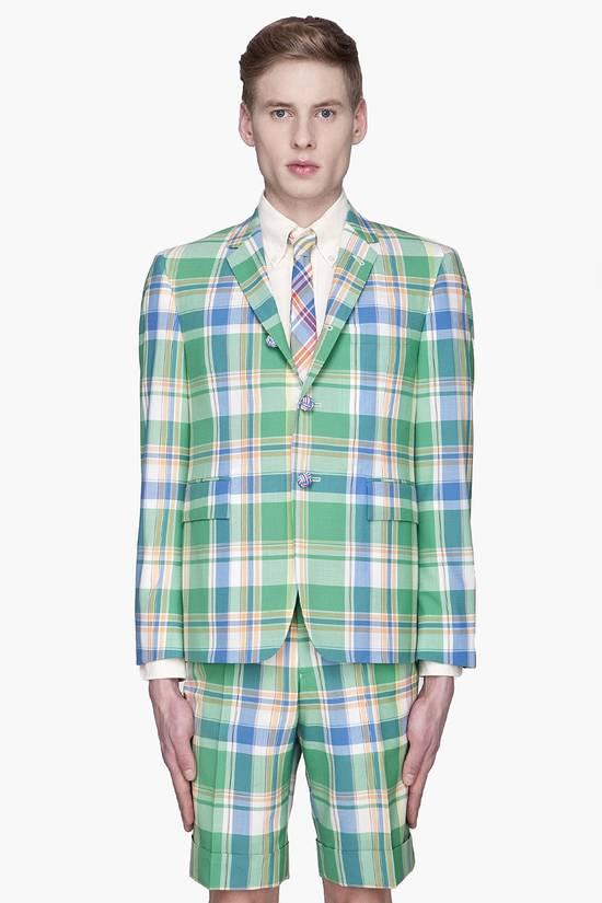Thom Browne 13ss madras runway blazer Size 50S - 4