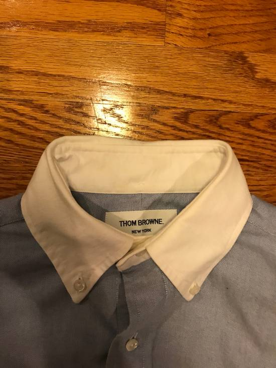 Thom Browne French Cuff Shirt Size US S / EU 44-46 / 1 - 2