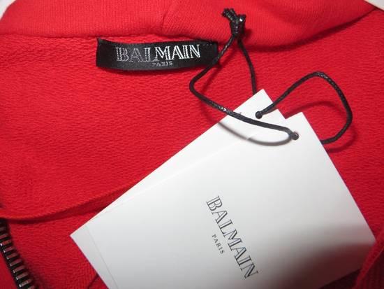 Balmain Sleeveless hoodie with Badge Size US M / EU 48-50 / 2 - 8