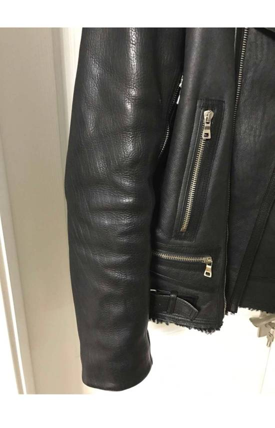 Balmain shearling leather biker jacket Size US M / EU 48-50 / 2 - 7
