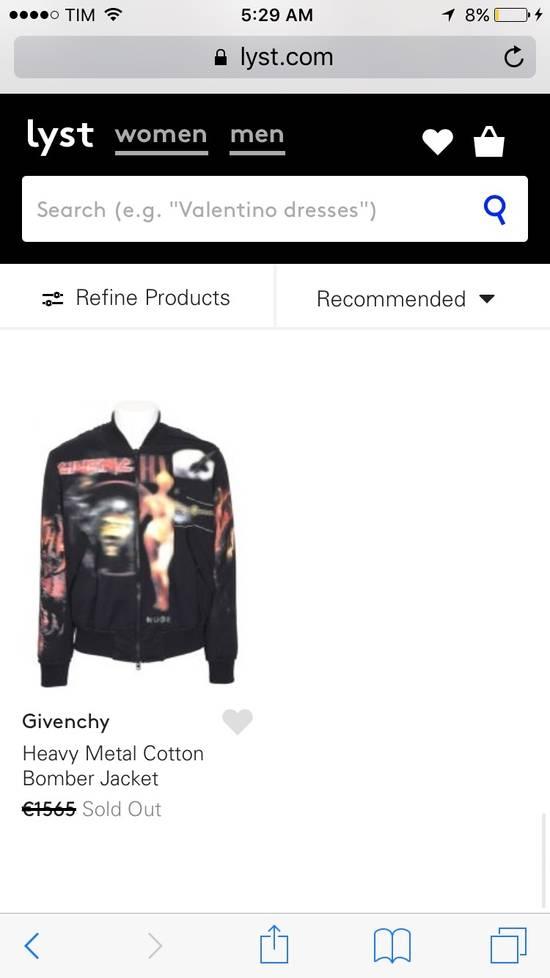 Givenchy Heavy Metal Bomber Size US M / EU 48-50 / 2 - 2
