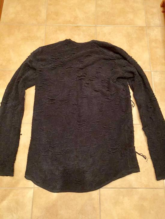 Julius Distressed Sweater Size US L / EU 52-54 / 3 - 1