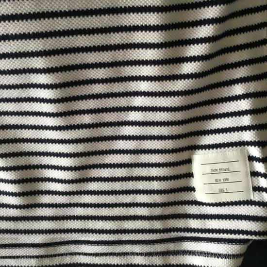 Thom Browne $599 THOM BROWNE POLO SHIRT RIBBED *** NEW *** Size US L / EU 52-54 / 3 - 2