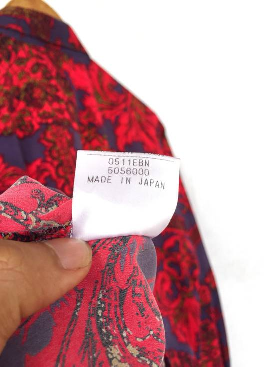 Balmain Multicolor Overprinted Floral Blossom Oversized Button Up Silk Shirt Size US L / EU 52-54 / 3 - 7