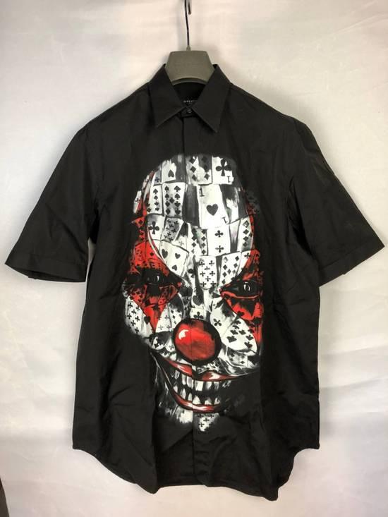 Givenchy New! AW13 Clown Print Short Sleeve Shirt Size US M / EU 48-50 / 2