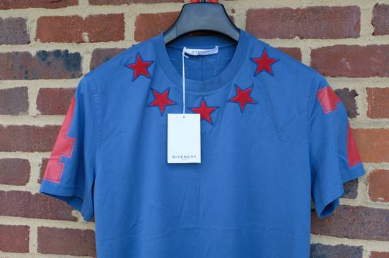 Givenchy Blue and Red 5 stars T-shirt Size US L / EU 52-54 / 3 - 3