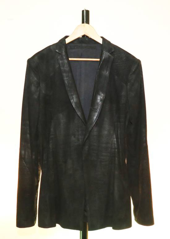 Julius Nubuk leather blazer Size 46R