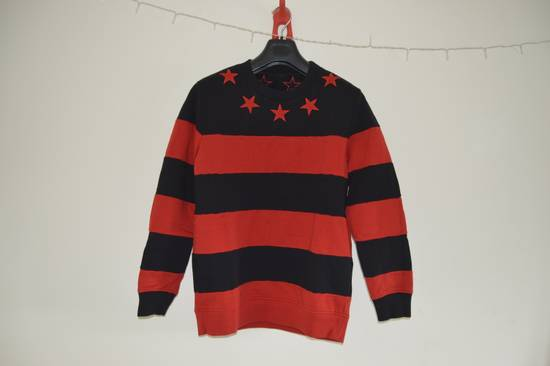 Givenchy Red Stars and Stripes Sweater Size US XS / EU 42 / 0