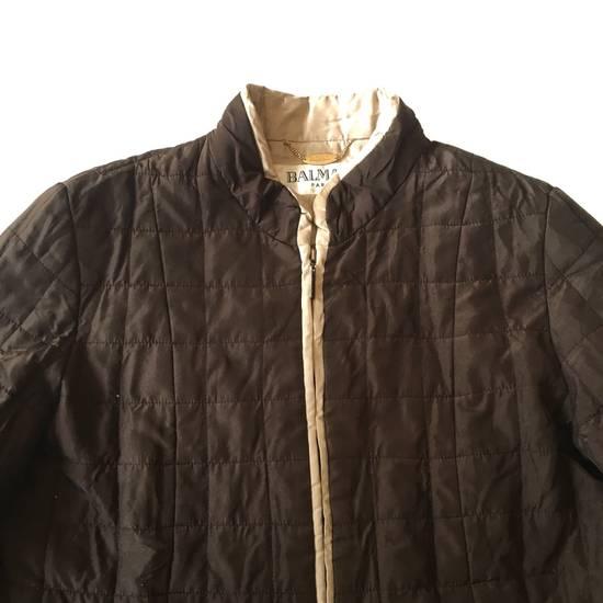 Balmain Final Drop! Balmain Quilted Silk Jacket Size US S / EU 44-46 / 1 - 2