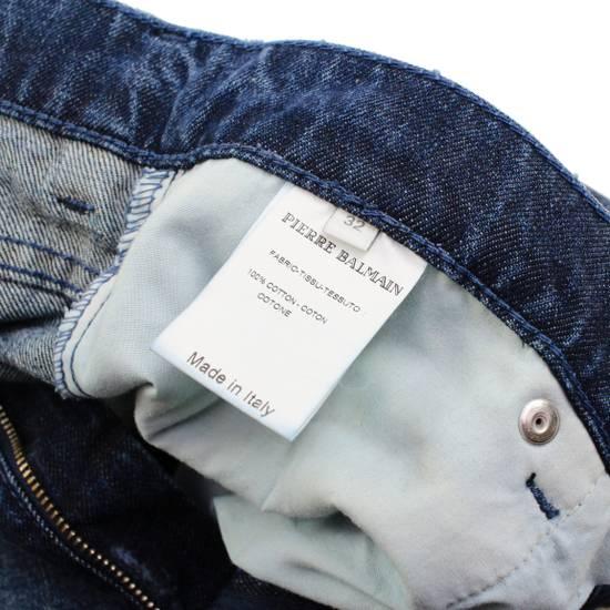Balmain Pierre Balmain Distressed Moto Biker Jeans Size 32 Made in Italy Size US 32 / EU 48 - 5