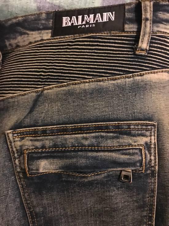 Balmain Balmain Biker Jeans Size US 33 - 5