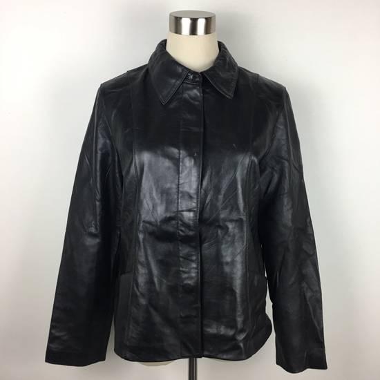 Balmain Mens BALMAIN Paris Leather PVC Jacket Coat Luxury Designer Size US M / EU 48-50 / 2