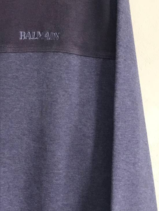 Balmain SWEATSHIRT BALMAIN PARIS EMBROIDERED TUNED COLOURS Size US M / EU 48-50 / 2 - 1
