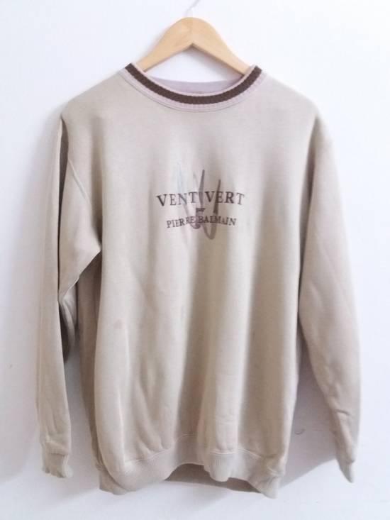 Balmain Vintage Vent Vert Pierre Balmain Spell Out Big Logo !!! Size US L / EU 52-54 / 3