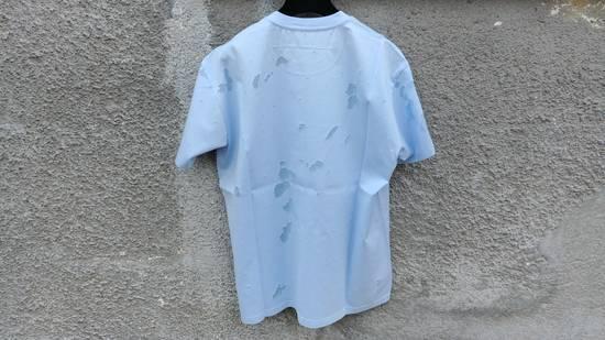 Givenchy Givenchy Baby Blue Destroyed Distressed Logo Shark Oversized T-shirt size M (XL) Size US XL / EU 56 / 4 - 7