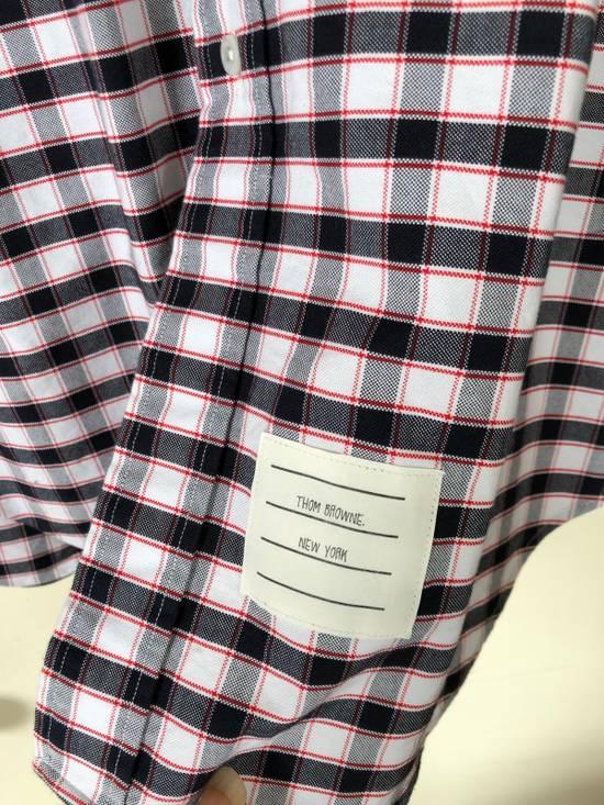 Thom Browne Check Shirt Size US L / EU 52-54 / 3 - 4