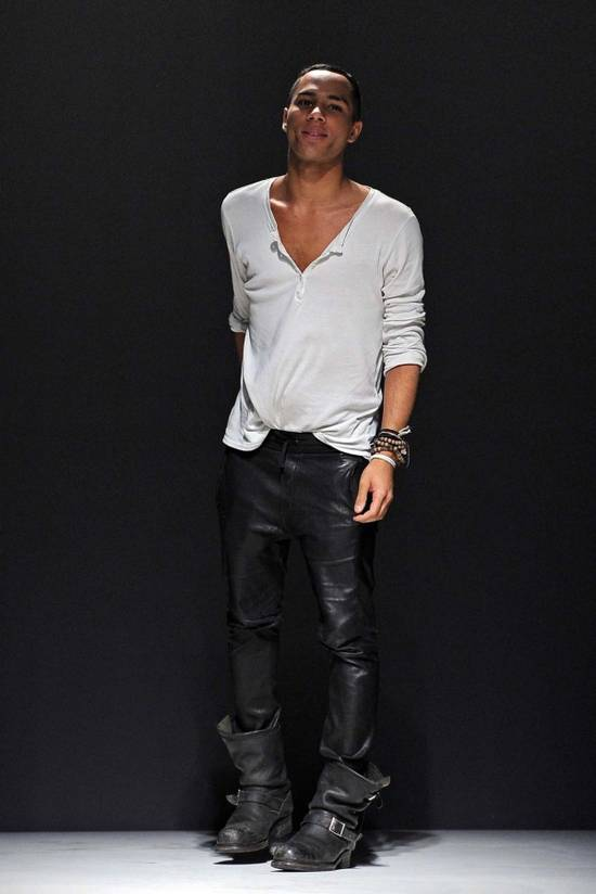 Balmain SS14 Washed Leather Jogger Size US 30 / EU 46 - 4