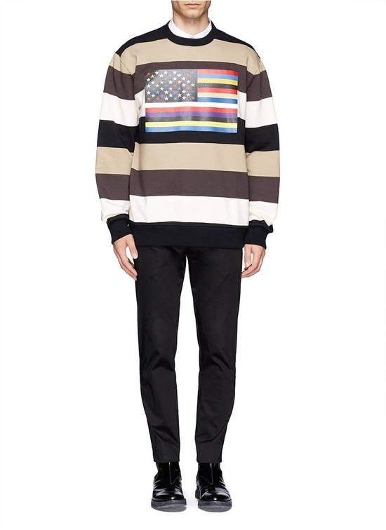 Givenchy $795 Givenchy American Flag Stripe Rottweiler Oversized Sweater size XXS (L) Size US L / EU 52-54 / 3 - 7