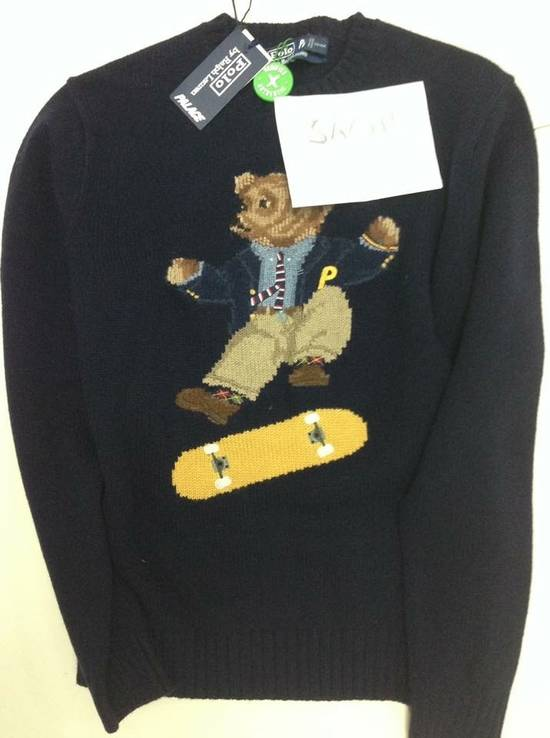 Ralph Lauren PALACE RALPH LAUREN SKATE POLO BEAR SWEATER AVIATOR NAVY Size US M / EU 48-50 / 2 - 3