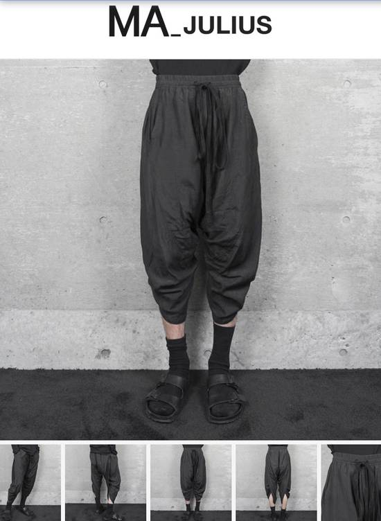 Julius Ma_julius SS14 Back Shirring Pants Size US 26 / EU 42 - 7