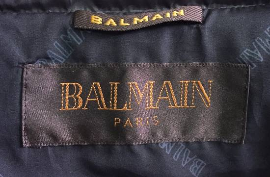 Balmain Puffer Jacket Monogram Bailman Button Up Full Zipper Size US L / EU 52-54 / 3 - 1