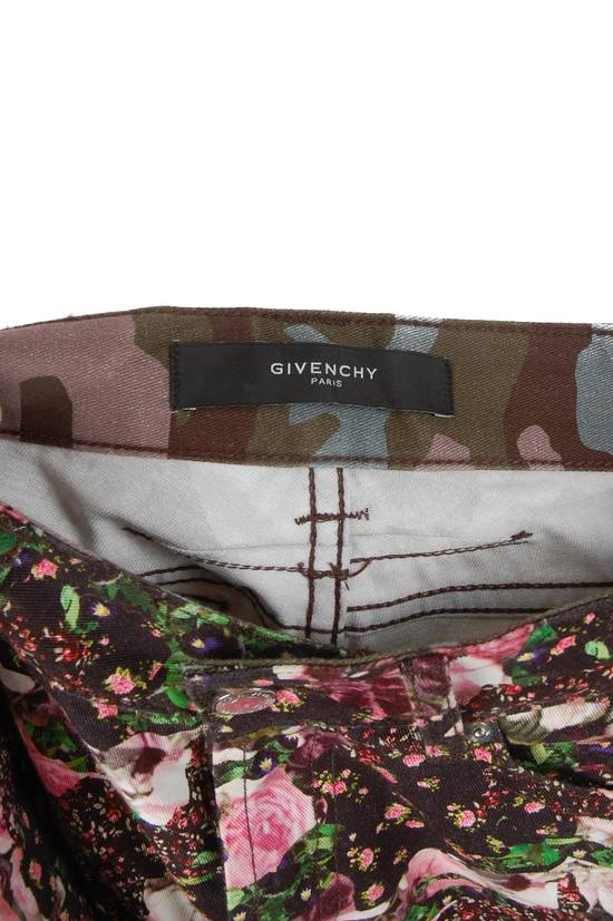 Givenchy Givenchy Multi-Color Floral Jeans Size US 31 - 2