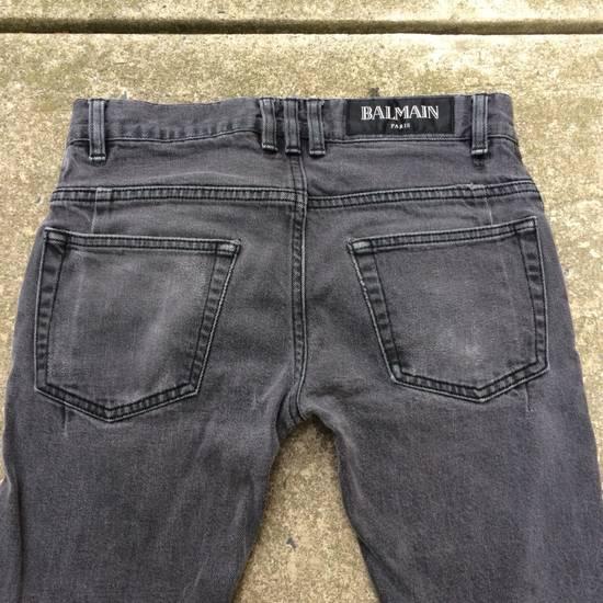 Balmain Gray Balmain Skinny Jeans Size US 27 - 12