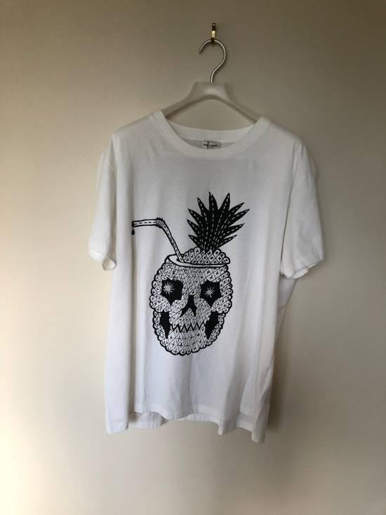 Saint Laurent Paris Saint Laurent Pinaskulla Pineapple Skull Tee Size US XXL / EU 58 / 5