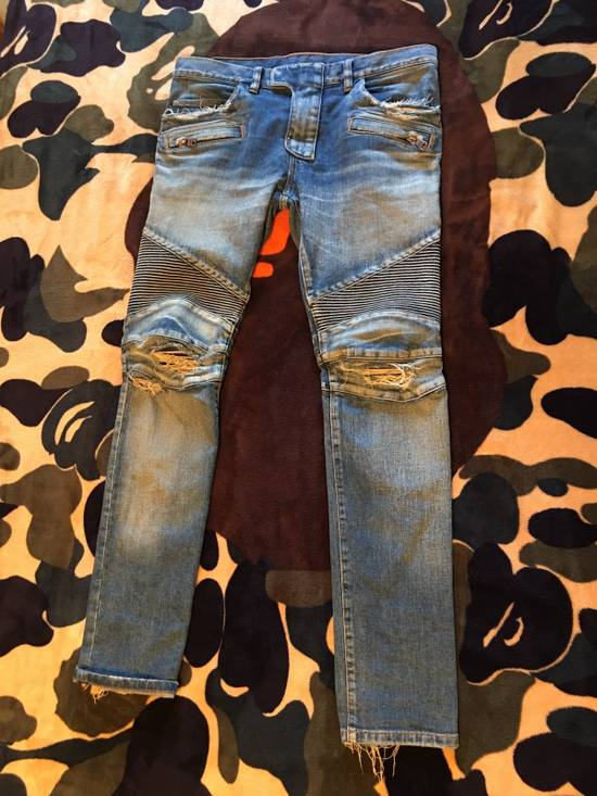 Balmain Balmain Ripped Denim Size US 31
