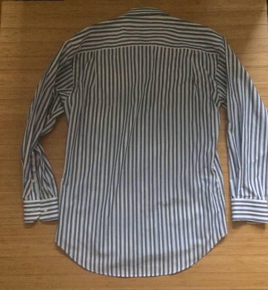 Balmain Blue Double Stripe Balmain Dress Shirt Size US M / EU 48-50 / 2 - 4