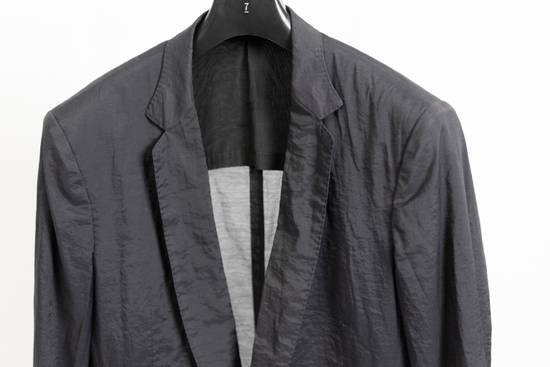 Julius SS11 Black Skirted Tech Blazer Jacket Size US M / EU 48-50 / 2 - 2