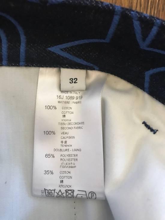 Givenchy Givenchy Printed Denim Shorts Size US 32 / EU 48 - 3