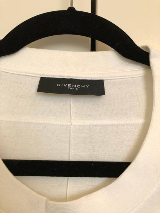 Givenchy Oversized Nude Women Tee Silk Print Size US S / EU 44-46 / 1 - 2