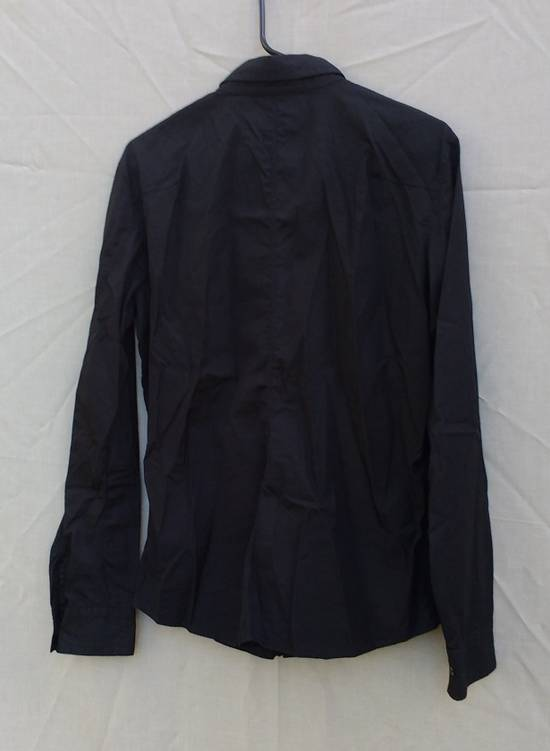 Julius Black Hidden Placket Shirt Size US L / EU 52-54 / 3 - 1