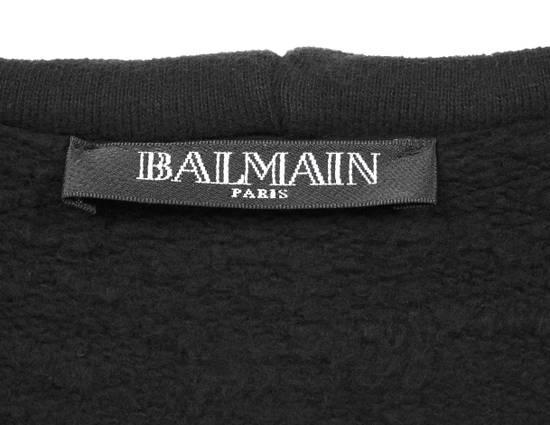 Balmain Original Balmain Hooded Black Men Sleeveless Sweatshirt Top Vest in size M Size US M / EU 48-50 / 2 - 8