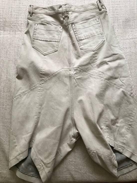 Julius AW14 painted low crotch denim cropped pants Size US 32 / EU 48 - 6
