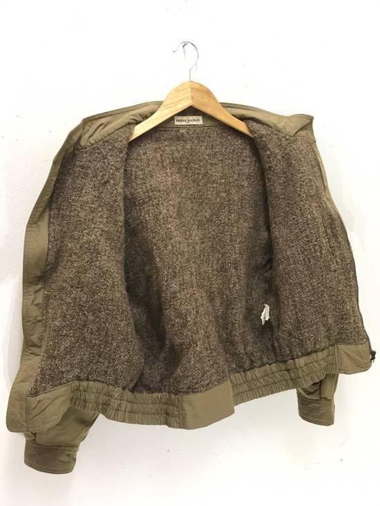 Balmain Pierre Balmain Paris 90s Cropped Jacket With Wool Lining Made in Japan Size US M / EU 48-50 / 2 - 3