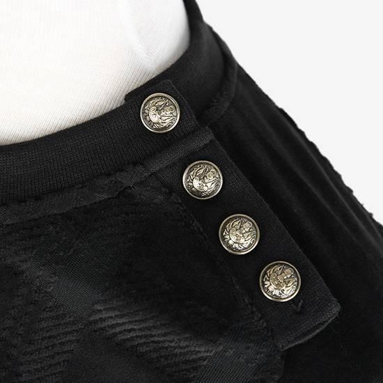 Balmain Size Small - Checked Button Shoulder Sweatshirt- FW16 - $1050 Retail Size US S / EU 44-46 / 1 - 17