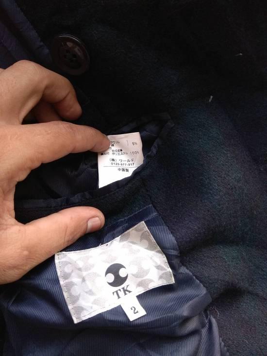 Takeo Kikuchi Takeo Kikuchi Check Plaid Tartan double breast light coat jaket parka Size US M / EU 48-50 / 2 - 4